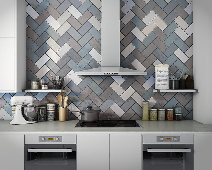 Add Character and Contrast to Space with Subway Tiles